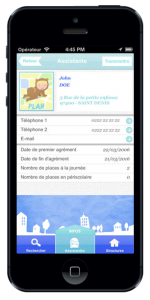 développement application tablette